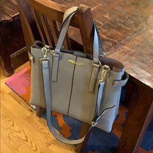 Steve Madden gray tote purse new no tags NWOT